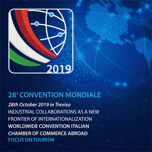 Immagine #2019WorldConvention - 28th Worldwide Convention of Italian Chambers Of Commerce Abroad, from 26th to 29th October 2019. Treviso - Venice - Padua