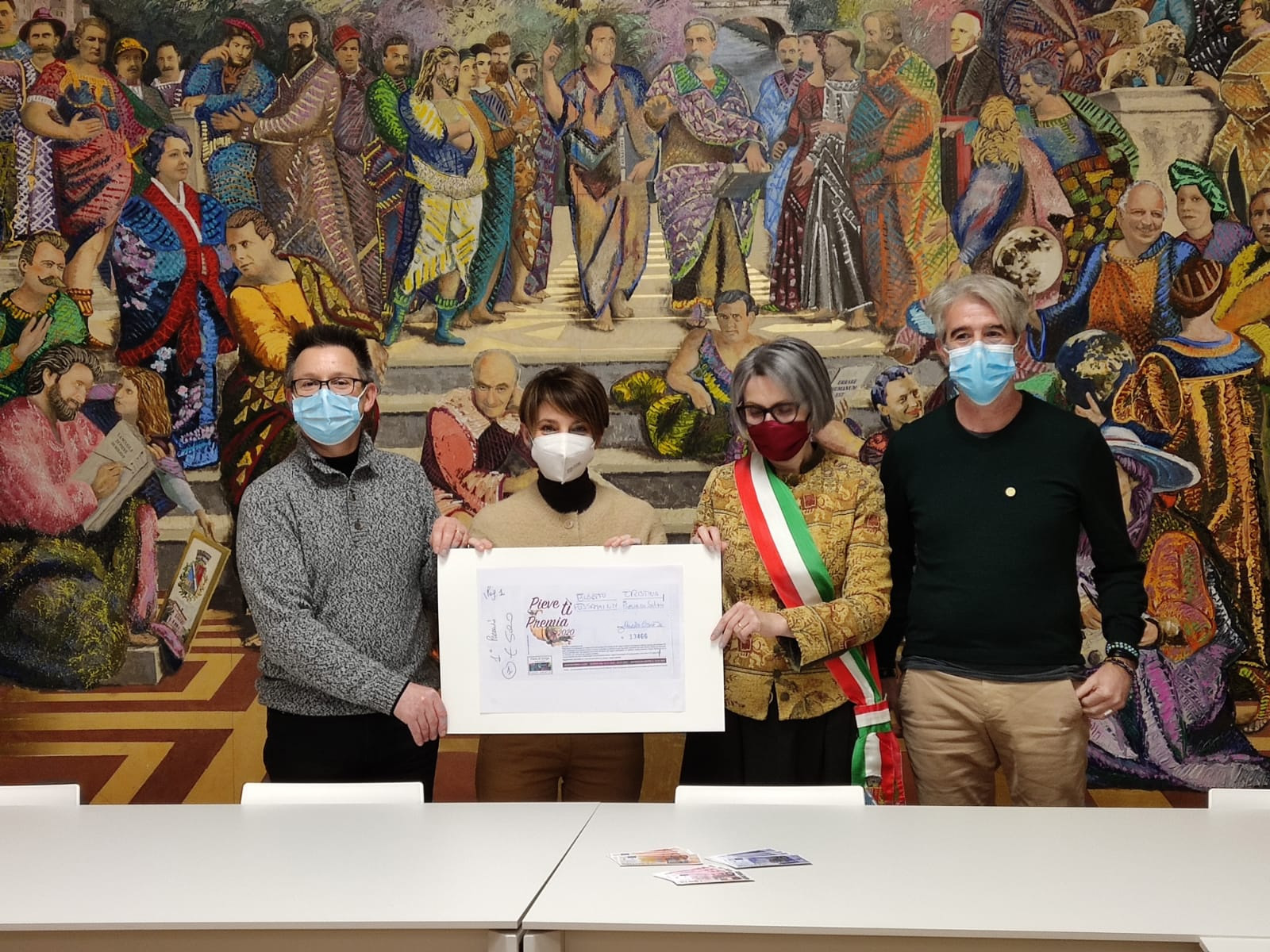 Immagine Pieve rewards you: the success and the award-ceremony of the contest