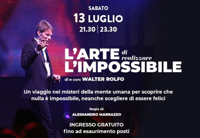 Immagine The Art of creating impossible things. The Festival of Magic in Treviso. 13th of July