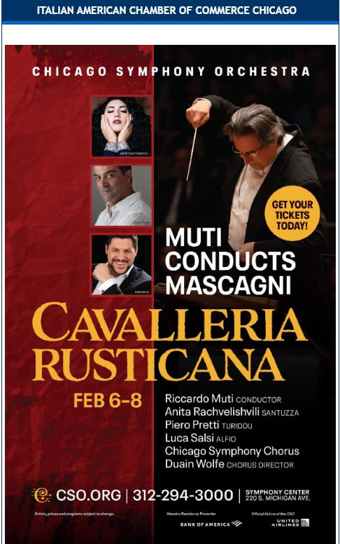 Immagine Cavalleria Rusticana at Chicago Symphony Orchestra, Thursday, February 6