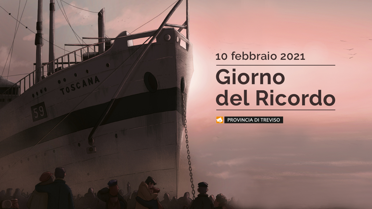 Immagine Live Streaming event for the Province of Treviso on 10th February at 10.00 am for the Day of Remembrance