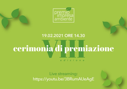 Immagine Sustainability: from Venice the live broadcast of the ceremony of the Environment Business Award, the highest Italian award for green companies