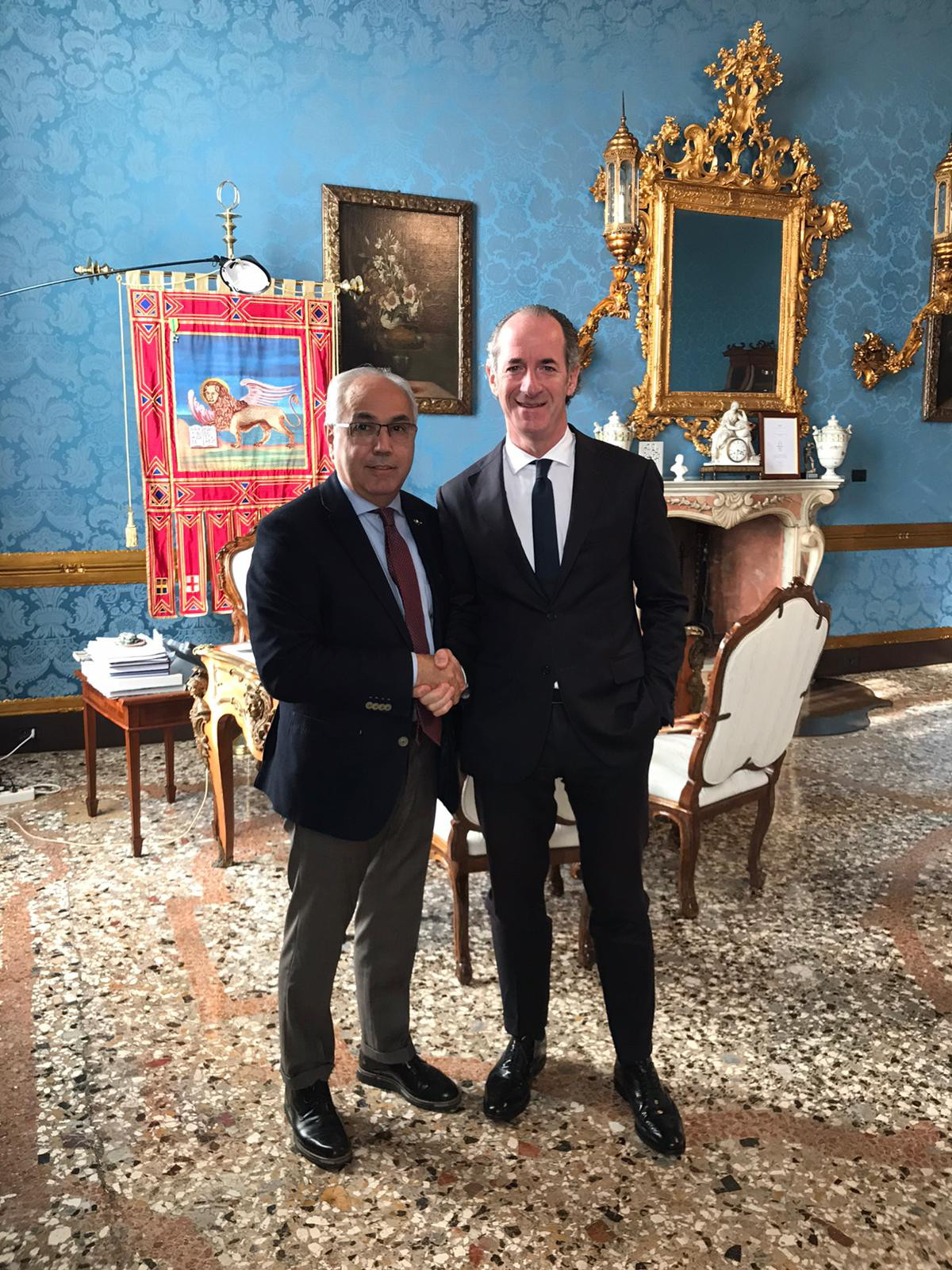 Immagine Pozza shares with the president Zaia the new chamber strategies for the Veneto Region