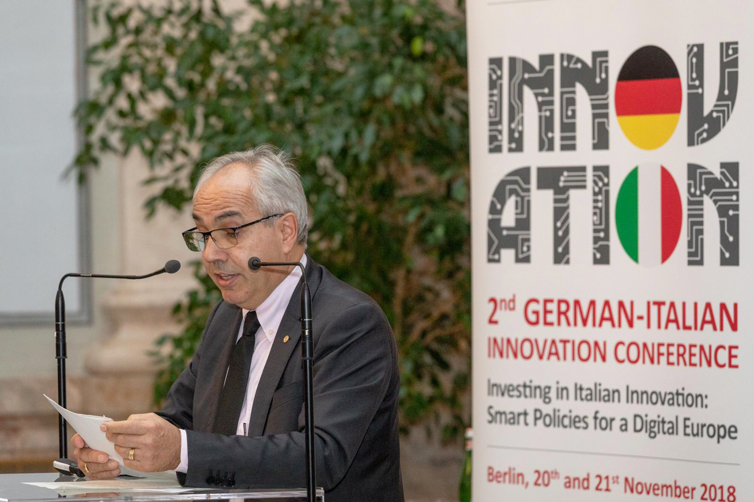 Immagine President Pozza visiting Berlin: digital innovation between Germany and Italy