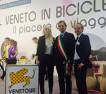Immagine Promotion for Veneto candidacy to host Tour de France Grand Départ started in Padua at the International Bike Show.