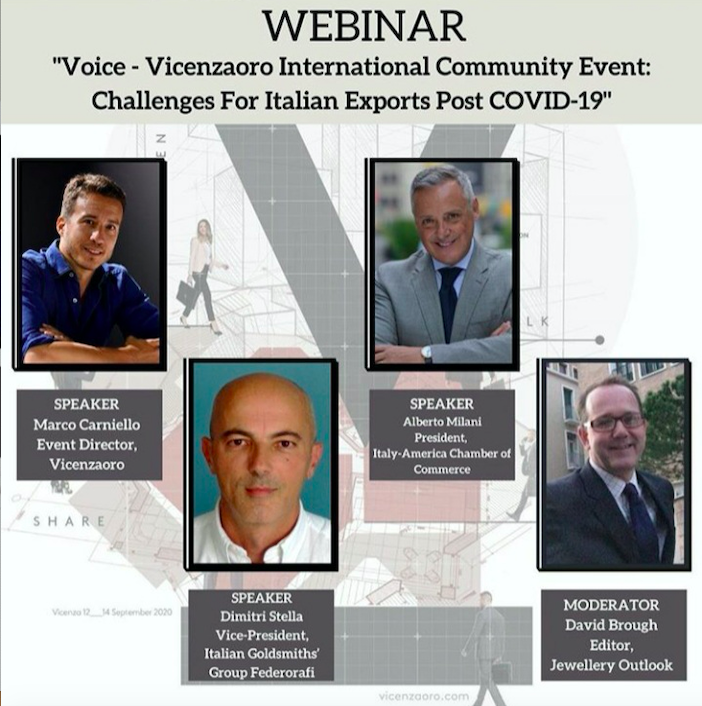Immagine WEBINAR – Italian jewellery exporters adapt to challenges from COVID-19