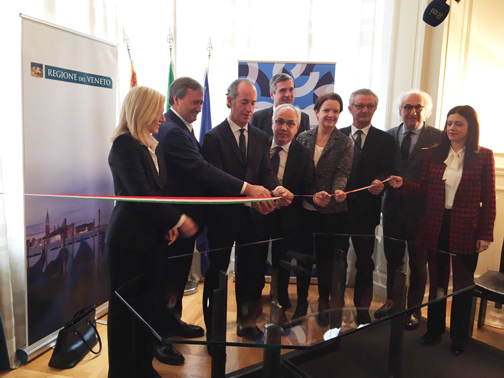 Immagine Unioncamere Veneto inaugurates the new premises in Bruxelles at Veneto Region's Headquarters
