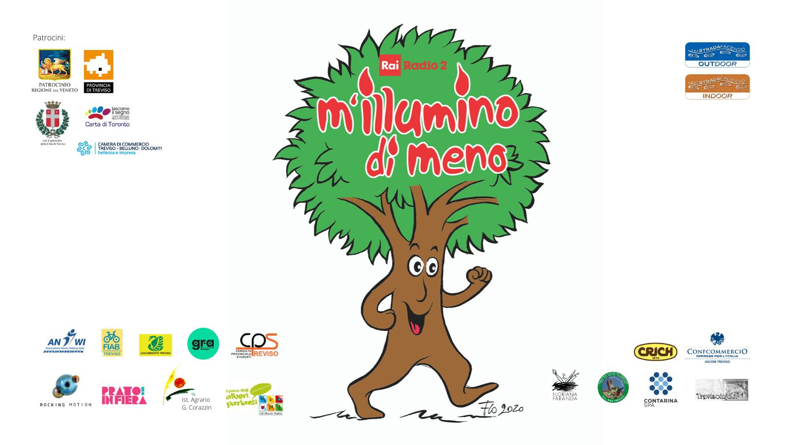 Immagine Camminata sociale M'illumino di meno 2020 a Treviso con il Nordic Walking, Venerdì 6 marzo ore 18.30