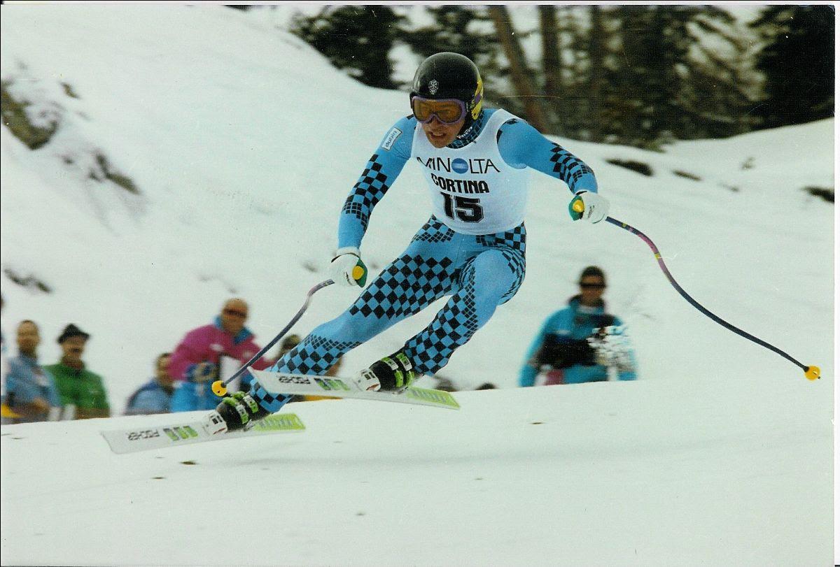 Immagine Kristian Ghedina festeggia 30 anni della sua prima vittoria a Cortina