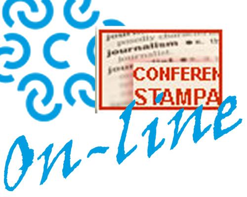Immagine INVITO ALLA  STAMPA - Martedì 24 Marzo 2020, Ore 11.00  - Modalità virtuale - Google meet