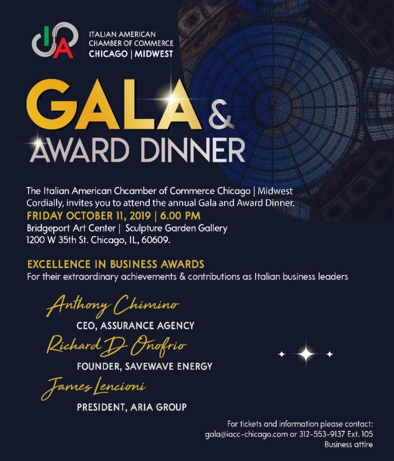 Immagine Gala & Award Dinner
