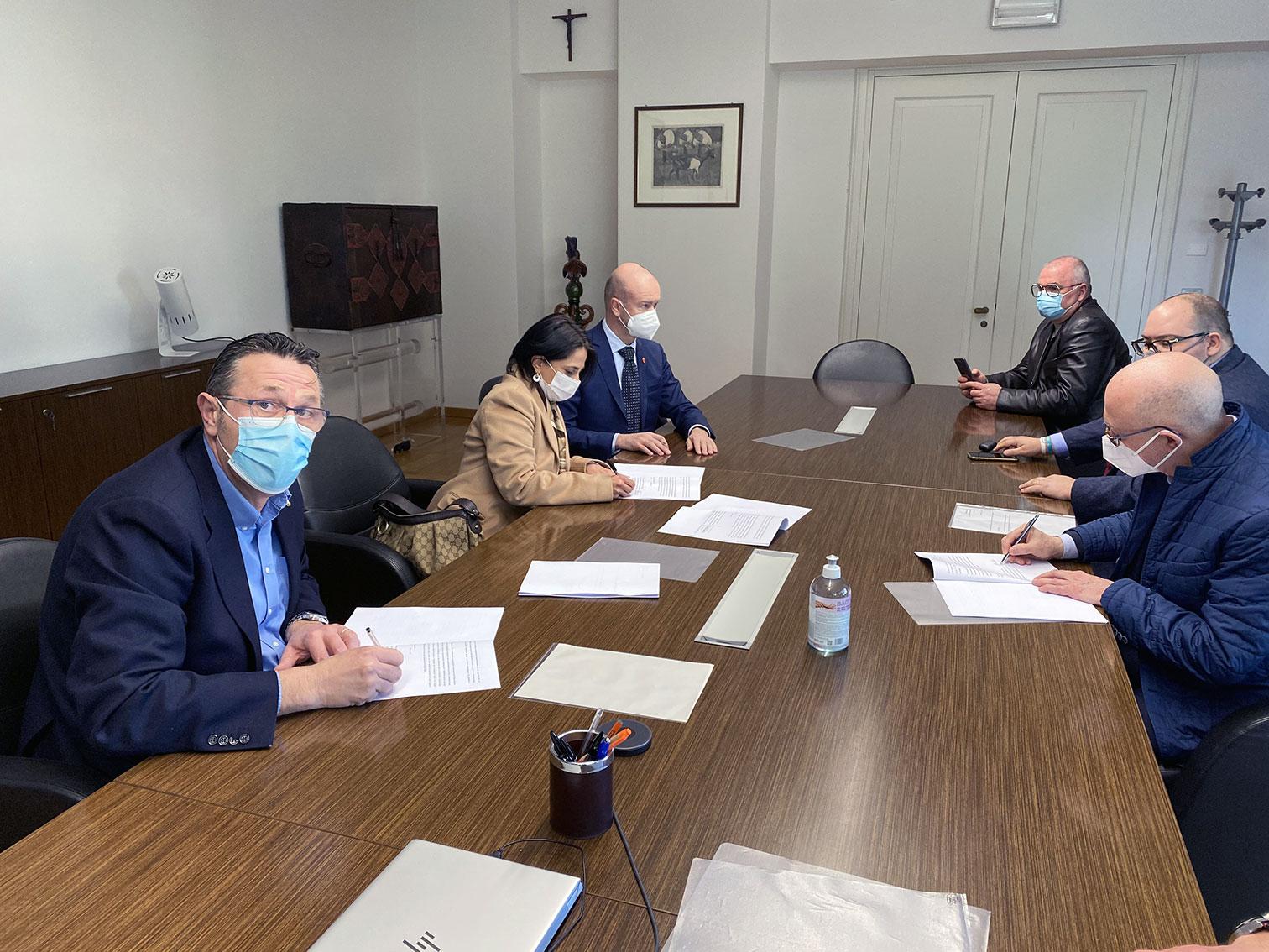 Immagine Montebelluna: Firmato l'Accordo in Provincia di Treviso per l'Ipsseoa Maffioli