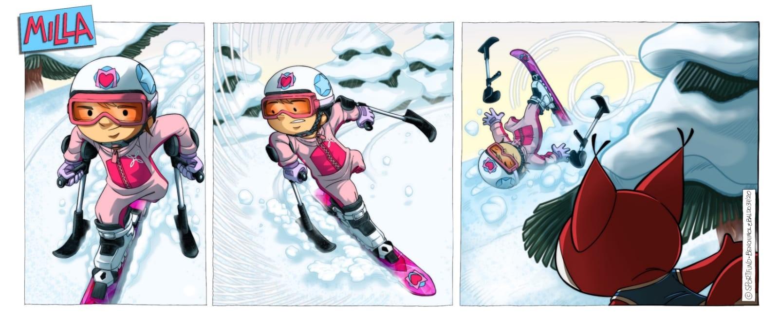 Immagine L'Ambassador dell'inclusività dei Mondiali di Cortina 2021 è Milla