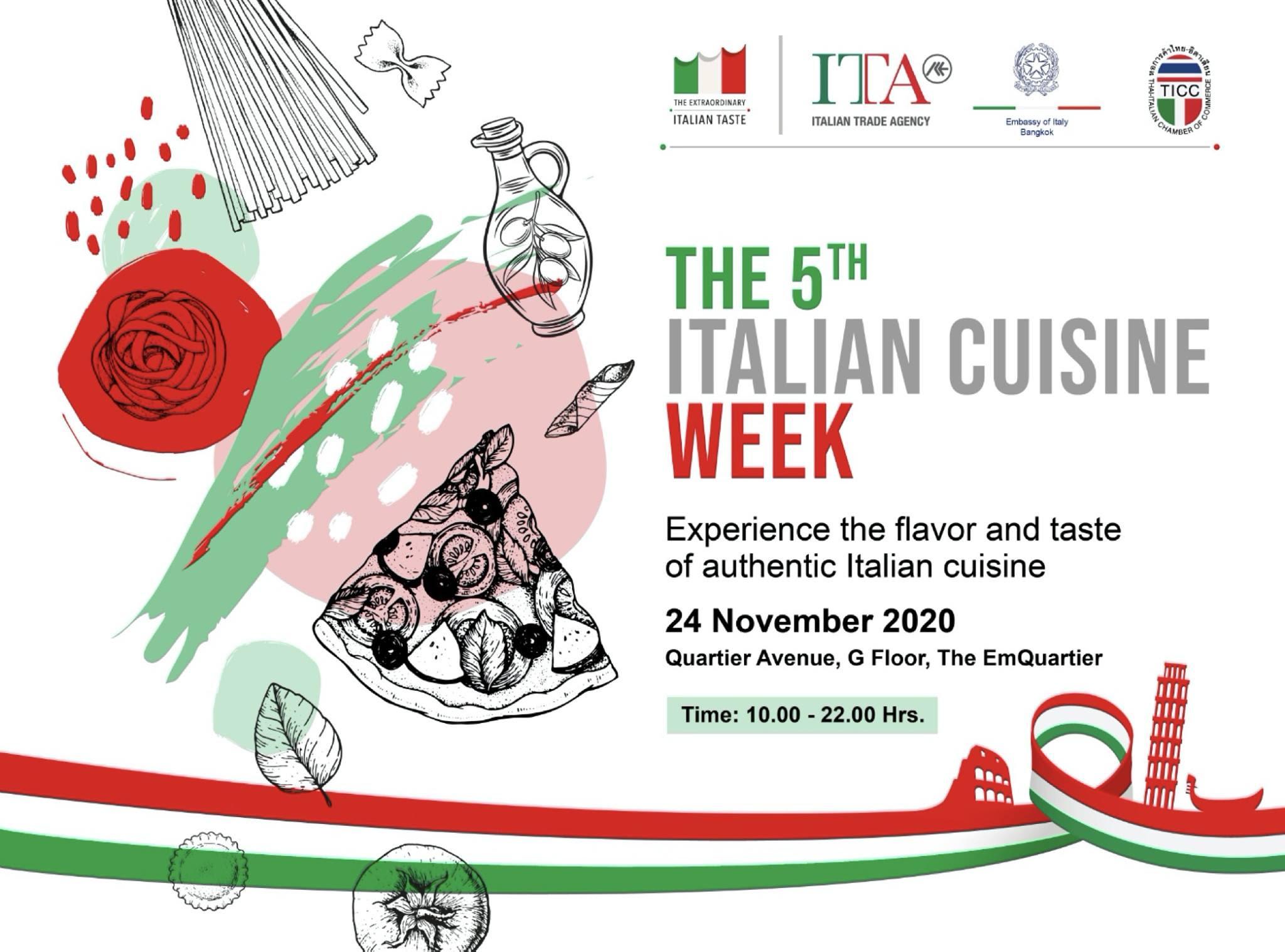 "Immagine  ""The 5th Italian Cuisine Week in Thailand"""