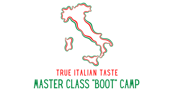 "Immagine Join Us for Our True Italian Taste - Master Class ""Boot"" Camp"